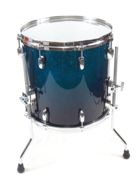 Gretsch Renown Maple Euro 4 Piece Cobalt Sparkle Fade