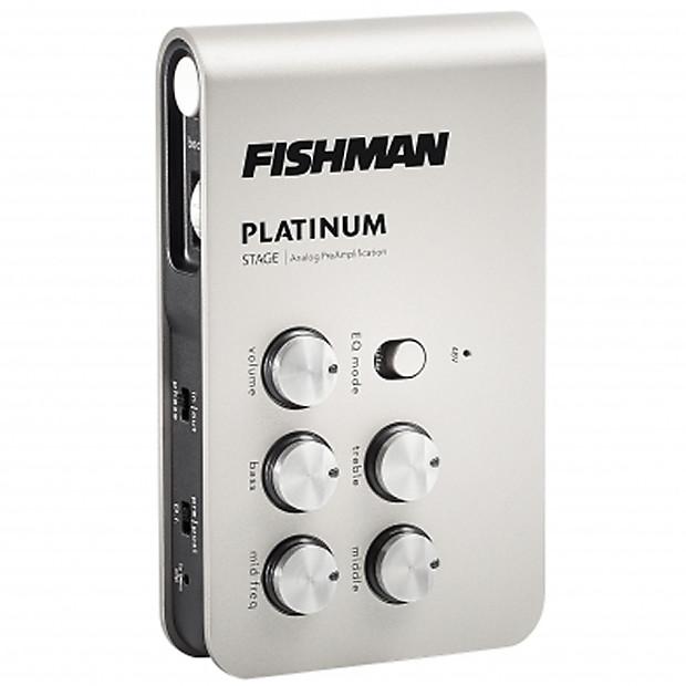 fishman platinum stage analog acoustic guitar preamp pedal reverb. Black Bedroom Furniture Sets. Home Design Ideas