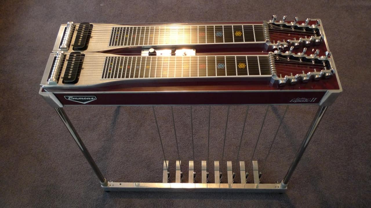 emmons lashley legrande ii d10 pedal steel guitar 8 pedals 4 reverb. Black Bedroom Furniture Sets. Home Design Ideas