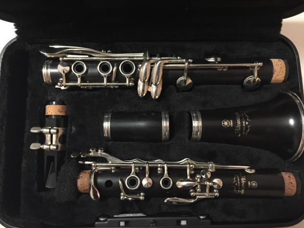 Yamaha ycl 400ad wood clarinet ycl400ad reverb for Yamaha beginner clarinet