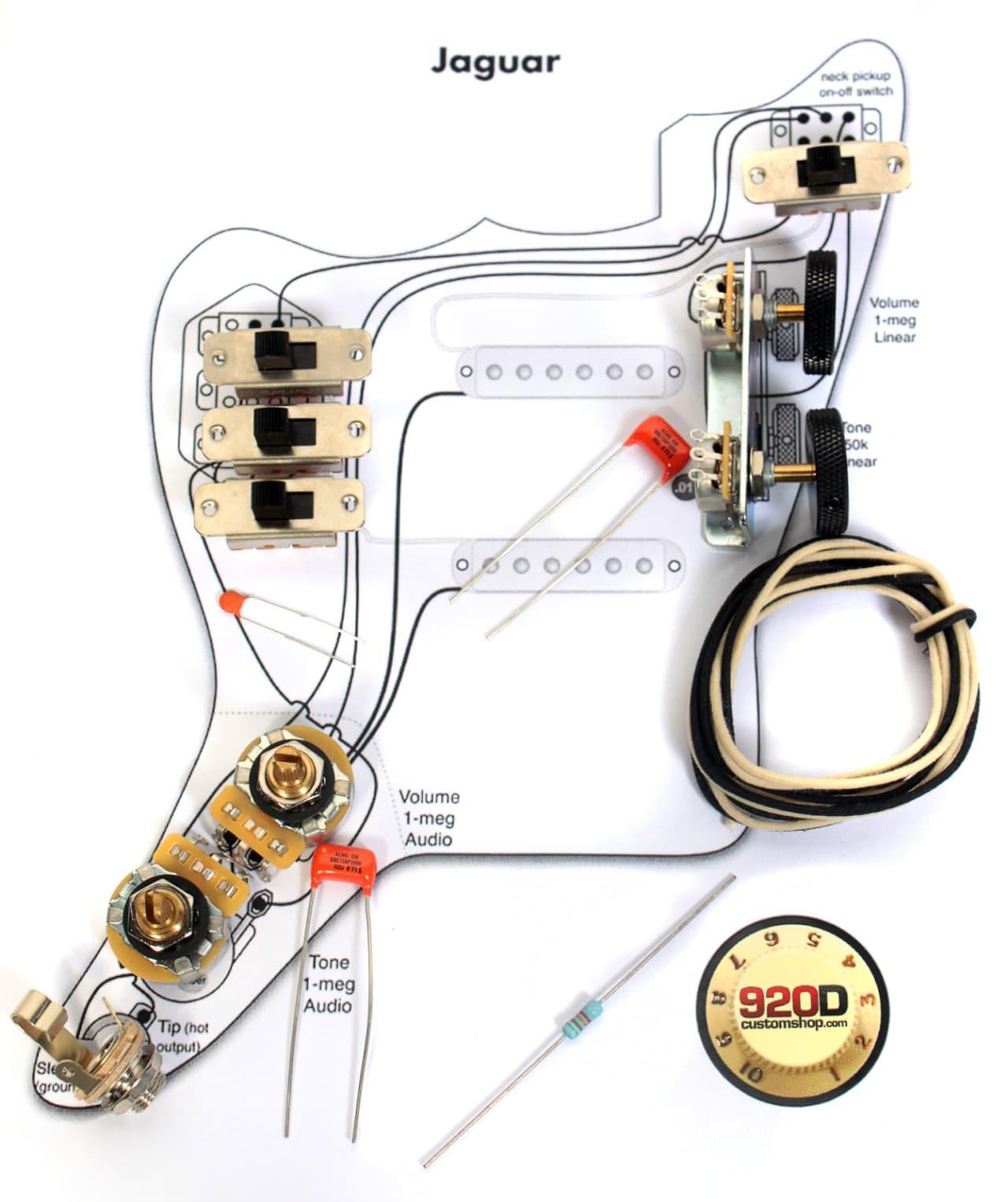 Vintage Wiring Kits Premium Pre Wired Es 335 Harness Kit Cts Jensen Caps Fender Jaguar Pots Switch Slider 1280x1526
