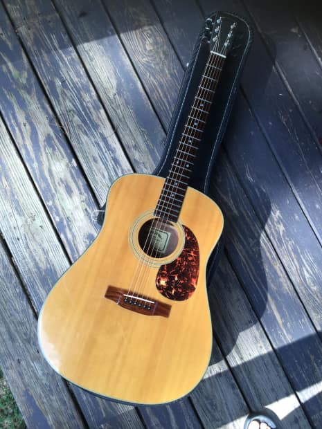 sigma martin dm2 acoustic guitar 6 string dreadnought w reverb. Black Bedroom Furniture Sets. Home Design Ideas