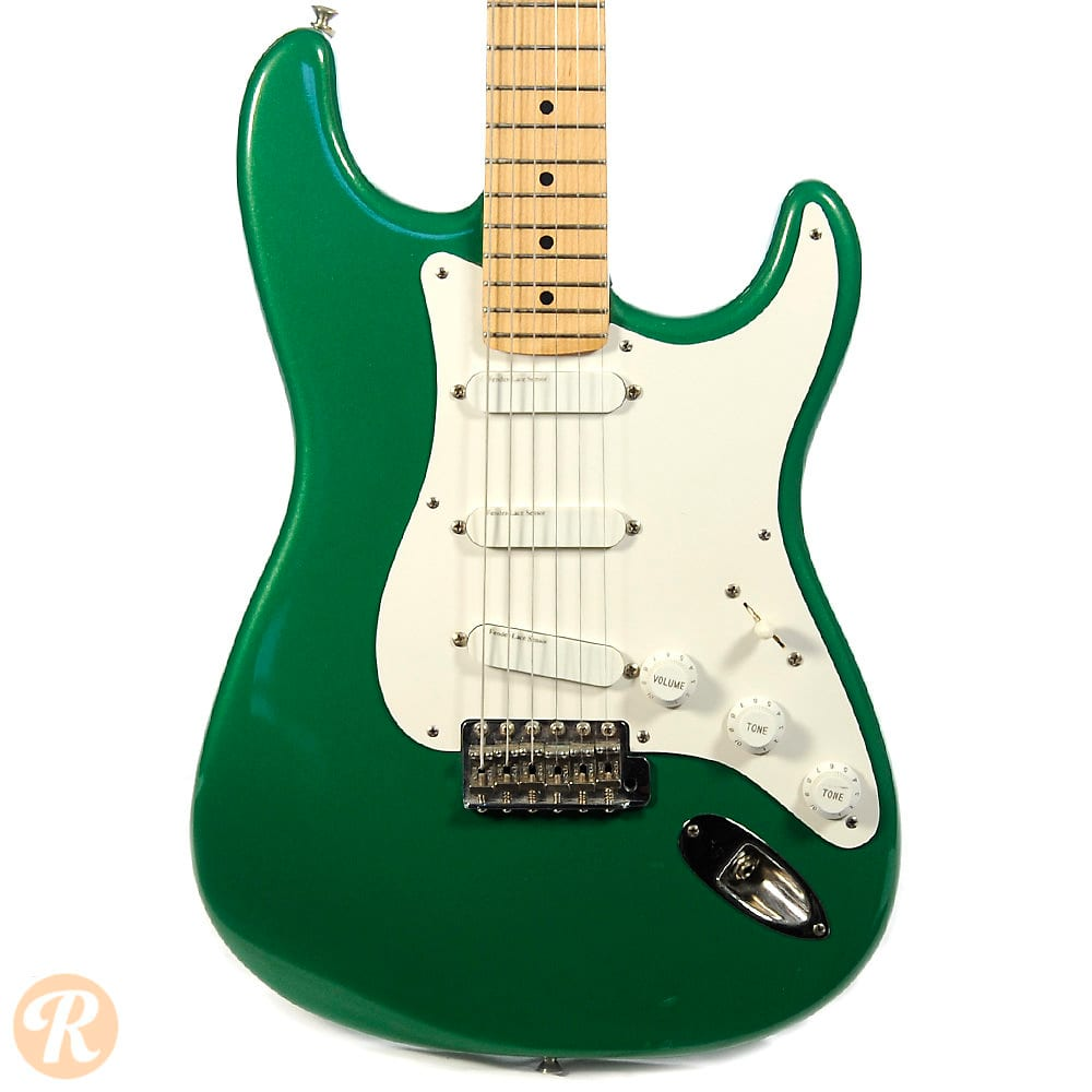 fender eric clapton stratocaster 1991 candy green price guide reverb. Black Bedroom Furniture Sets. Home Design Ideas