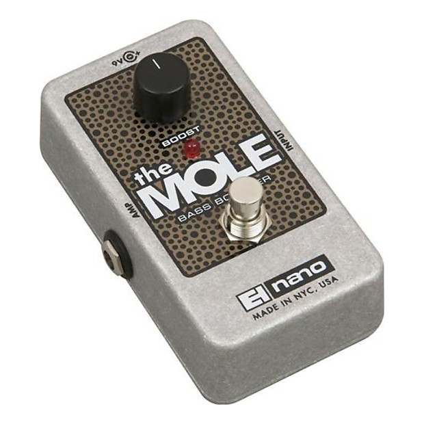 electro harmonix the mole bass booster bass effect pedal reverb. Black Bedroom Furniture Sets. Home Design Ideas