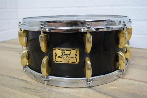 pearl masters maple shell 14x6 5 snare drum awesome used snare for sale reverb. Black Bedroom Furniture Sets. Home Design Ideas