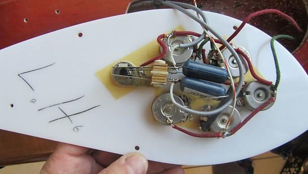 1968 rickenbacker 4005 6 6 string bass quot lefty quot reverb