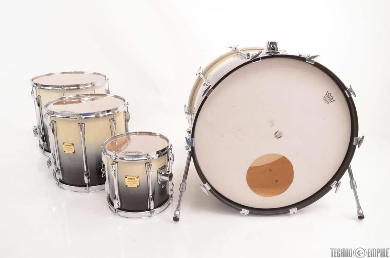 Yamaha russ kunkel 1990 07 custom model 4 piece drum kit for Yamaha dtx450k 5 piece electronic drum kit