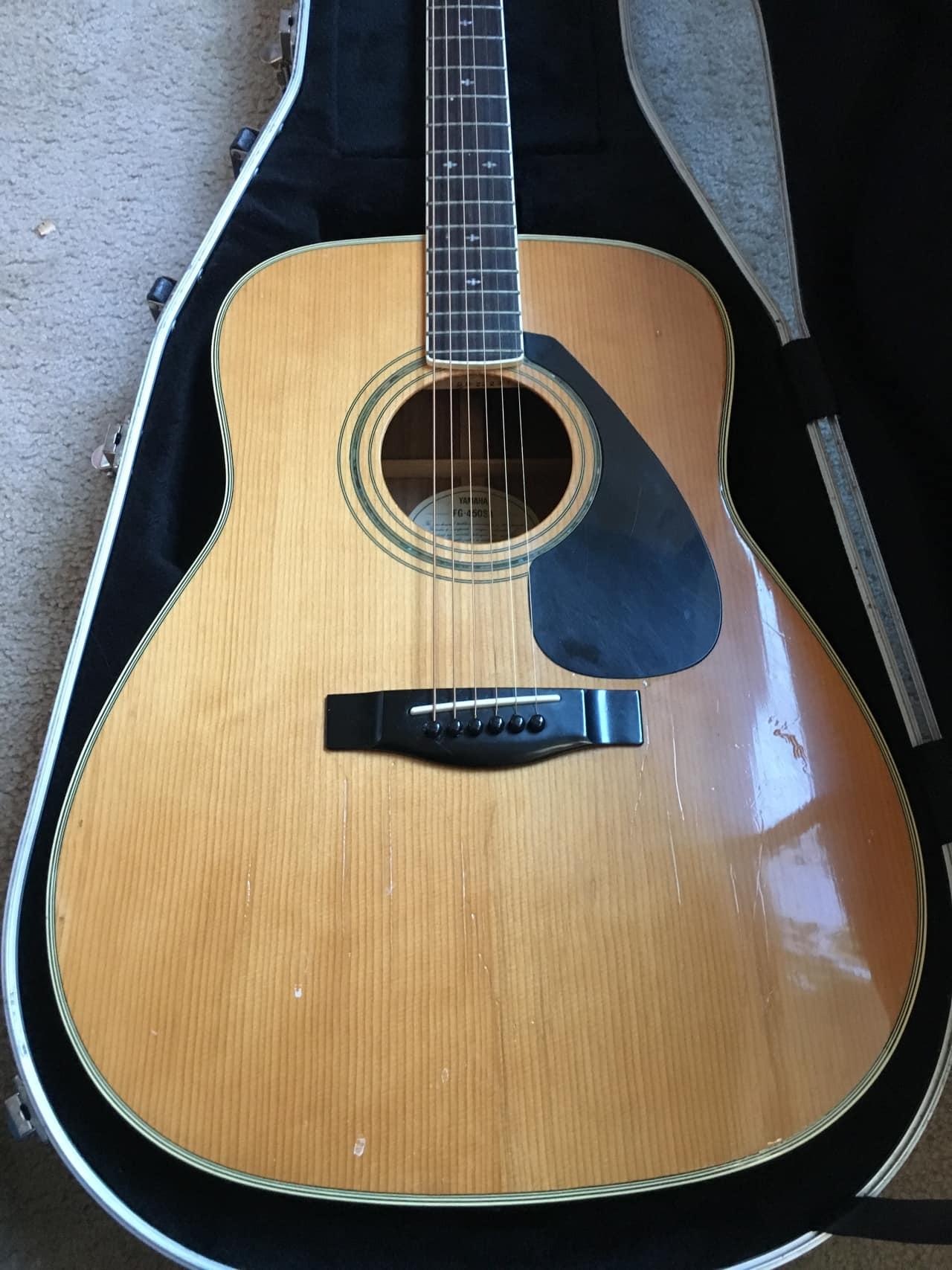 Yamaha Fg Sa Guitar