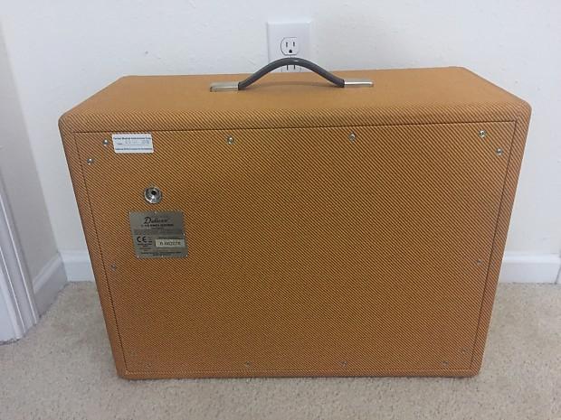fender rod deluxe tweed 1x12 cabinet reverb