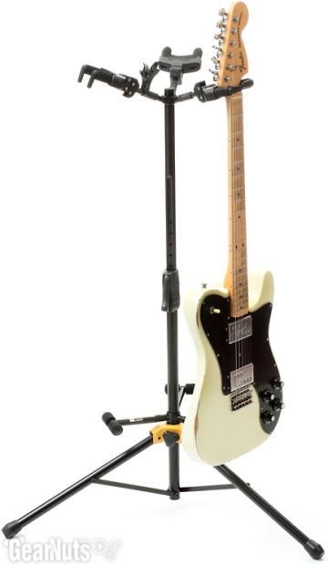 hercules stands gs432b hanging guitar stand triple reverb. Black Bedroom Furniture Sets. Home Design Ideas