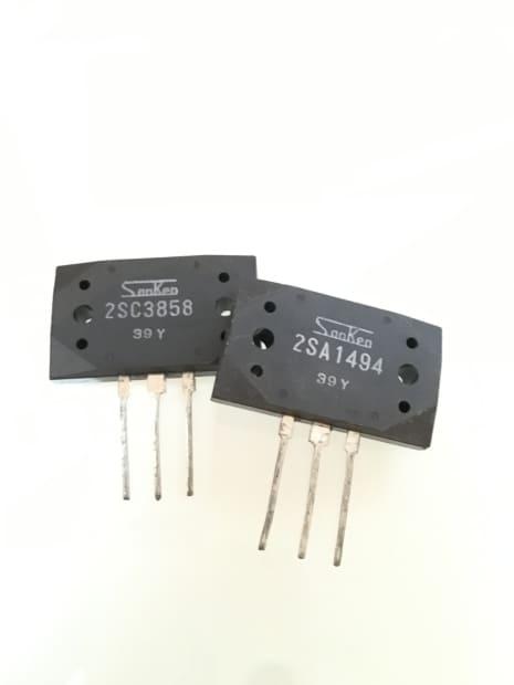 Sanken Genuine 200W Output Transistor Pair 2SC3858 ...