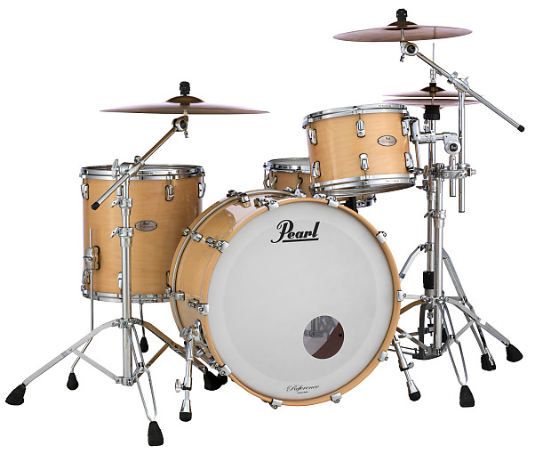 pearl reference pure shell pack free bags natural maple 22x16 reverb. Black Bedroom Furniture Sets. Home Design Ideas