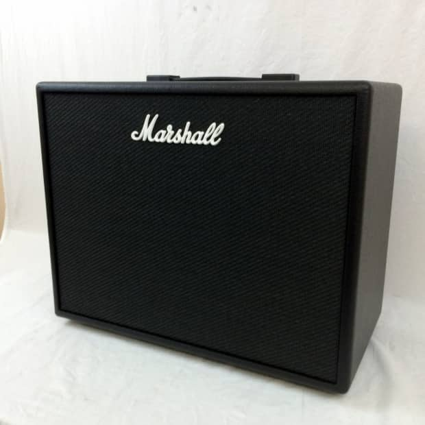 marshall code 50w 1x12 guitar combo amp black reverb. Black Bedroom Furniture Sets. Home Design Ideas