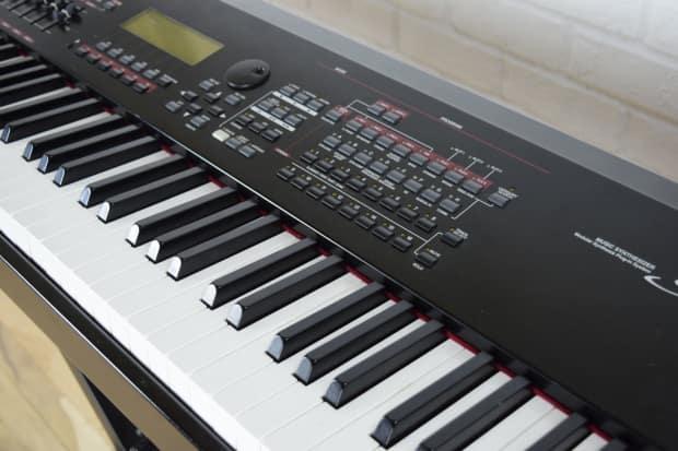 Yamaha s90 es 88 key weighted keyboard synth excellent for Yamaha keyboard 88 keys weighted