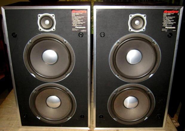 Auto Credit Sales >> Panasonic Thrusters SB-1100 Vintage Hi-Fi Stereo Speakers   Reverb