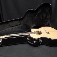 Washburn AG40CEK Acoustic Electric Guitar In Natural Flame #0004 image