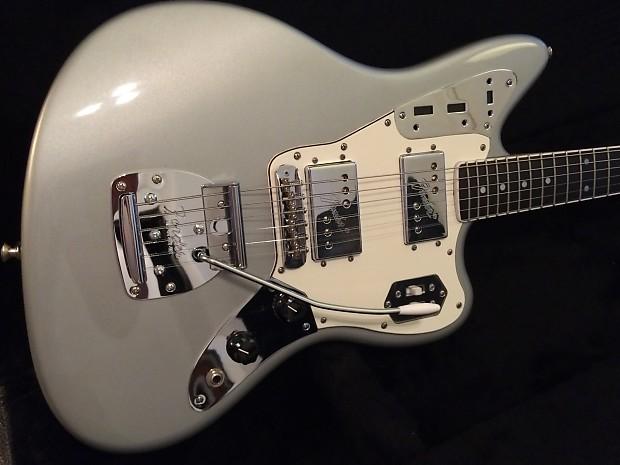 fender jaguar custom parts guitar in inca silver body by reverb. Black Bedroom Furniture Sets. Home Design Ideas
