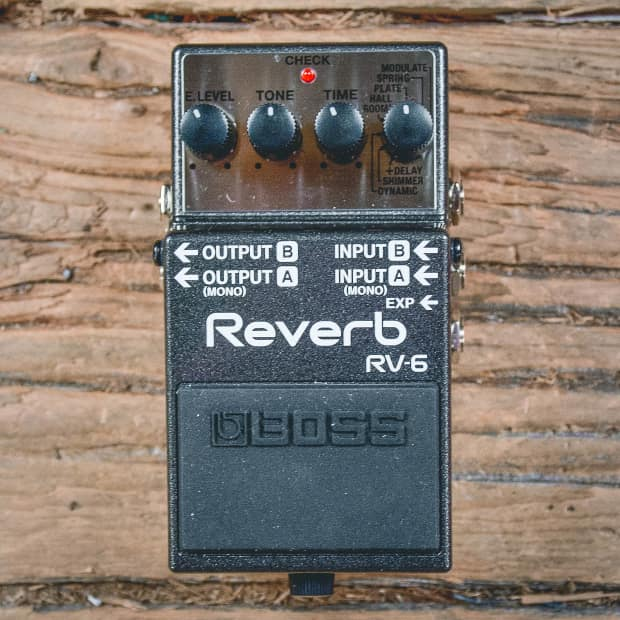Buyer Protection: Boss RV-6 Reverb