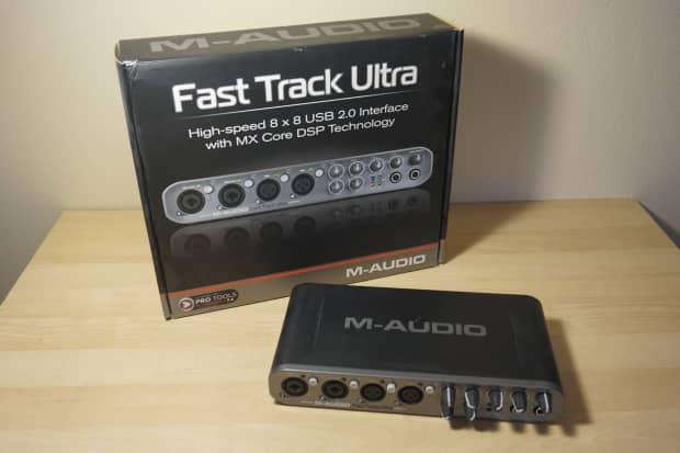 m audio fast track ultra recording interface usb 2 0 reverb. Black Bedroom Furniture Sets. Home Design Ideas