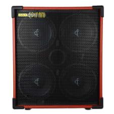 Epifani DIST 410 1000W 4x10 Bass Speaker Cabinet, 4 & 8 Ohms image