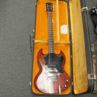 <p>Gibson SG Junior 1968 Red / Brown</p>  for sale