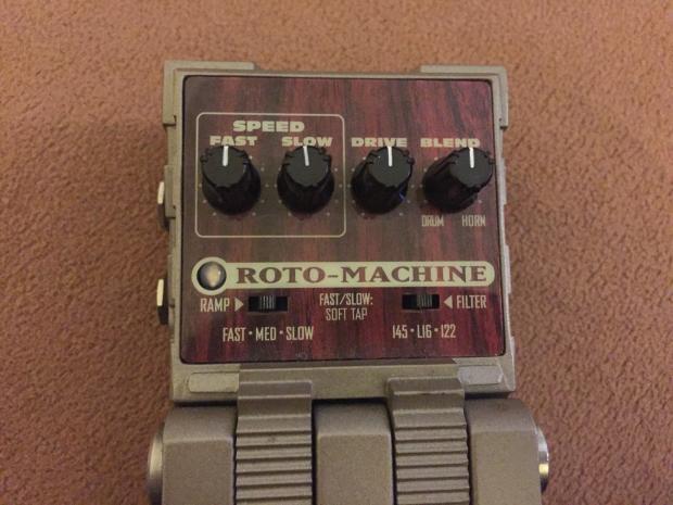 line 6 roto machine leslie rotary simulator pedal reverb. Black Bedroom Furniture Sets. Home Design Ideas