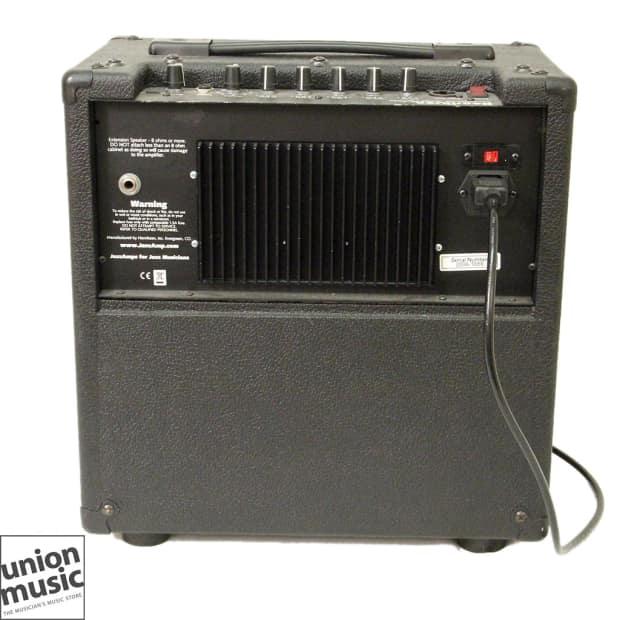 henriksen 110r jazz amp reverb 8 ohm black tolex combo guitar reverb. Black Bedroom Furniture Sets. Home Design Ideas
