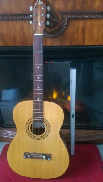 eko 3045 1970 39 s natural italian made vintage acoustic guitar reverb. Black Bedroom Furniture Sets. Home Design Ideas