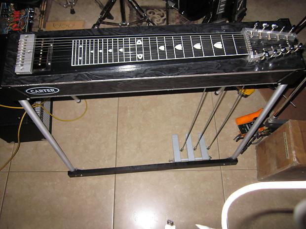 carter starter black pedal steel guitar 3x4 reverb. Black Bedroom Furniture Sets. Home Design Ideas