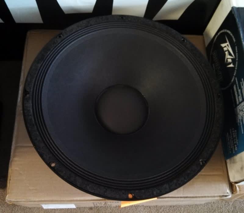 Peavey 15 Quot Black Widow Replacement Speaker Reverb