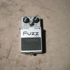 Boss  FZ-3 Fuzz Silver image