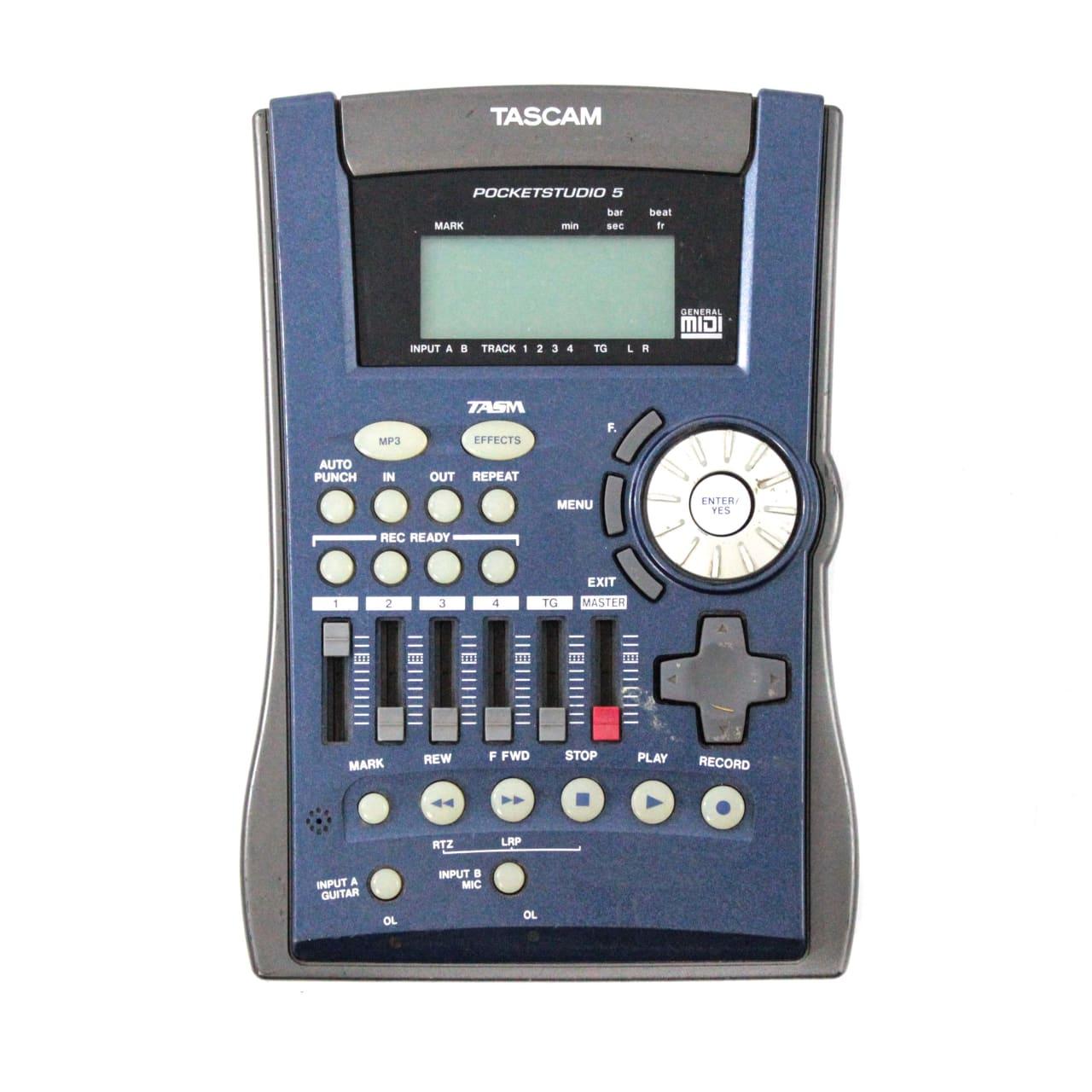 tascam pocketstudio 5 digital multitrack recorder reverb. Black Bedroom Furniture Sets. Home Design Ideas