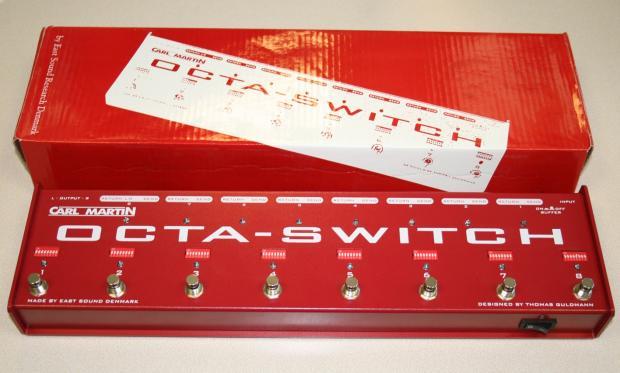carl martin octa switch mk3 manual