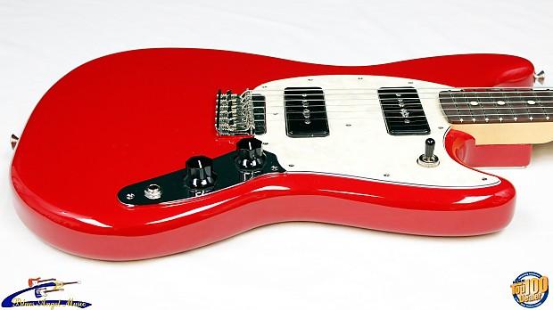 fender mustang 90 offset electric guitar torino red mp 90 reverb. Black Bedroom Furniture Sets. Home Design Ideas