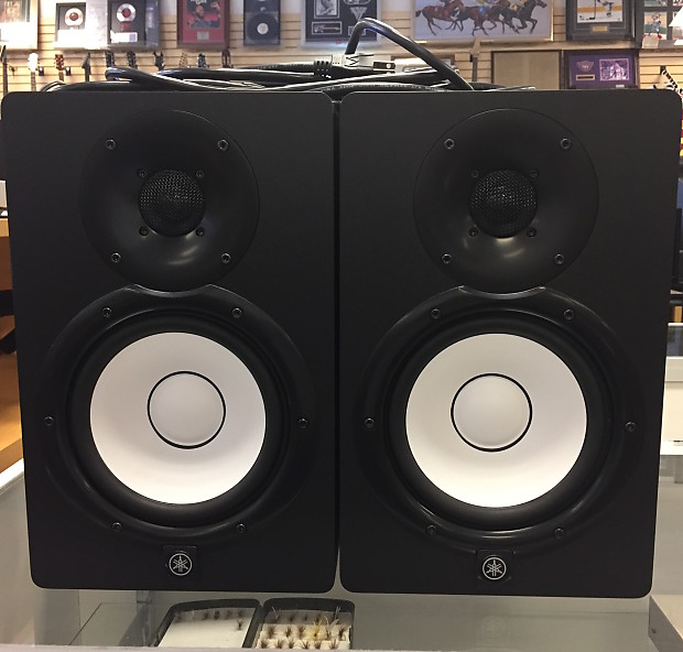 yamaha hs7 6 5 powered studio monitors pair reverb. Black Bedroom Furniture Sets. Home Design Ideas