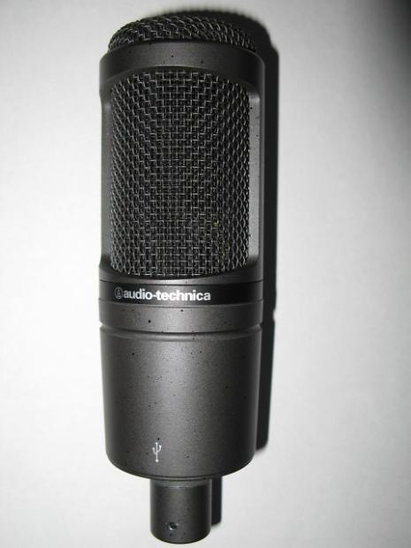 audio technica at2020 usb cardioid condenser microphone mint condition free shipping reverb. Black Bedroom Furniture Sets. Home Design Ideas