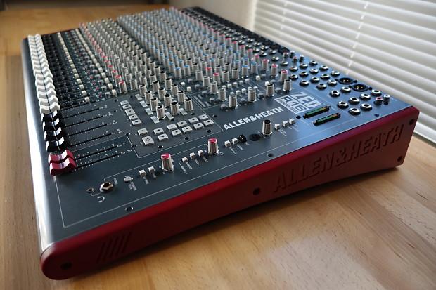 allen heath zed r16 analogue mixer audio interface reverb. Black Bedroom Furniture Sets. Home Design Ideas