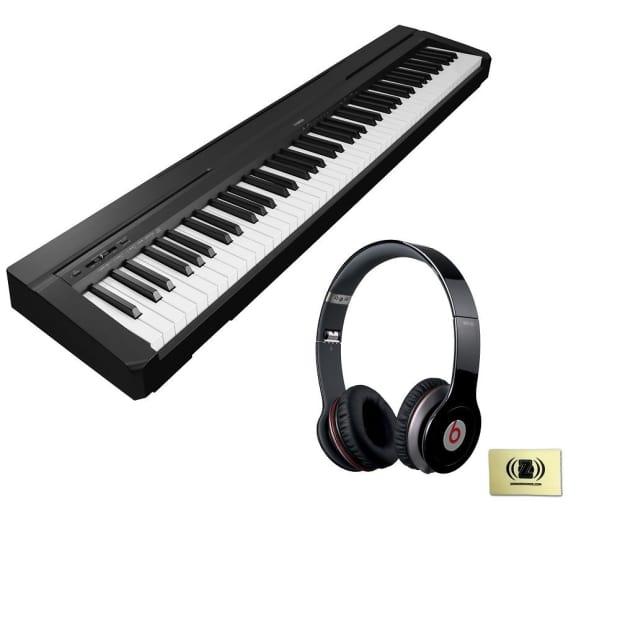 Yamaha p 105 digital piano bundle with beats solo hd on for Yamaha p105 digital piano bundle