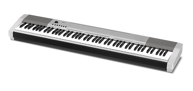 casio cdp130 digital electric piano silver cdp 130 88 key reverb. Black Bedroom Furniture Sets. Home Design Ideas