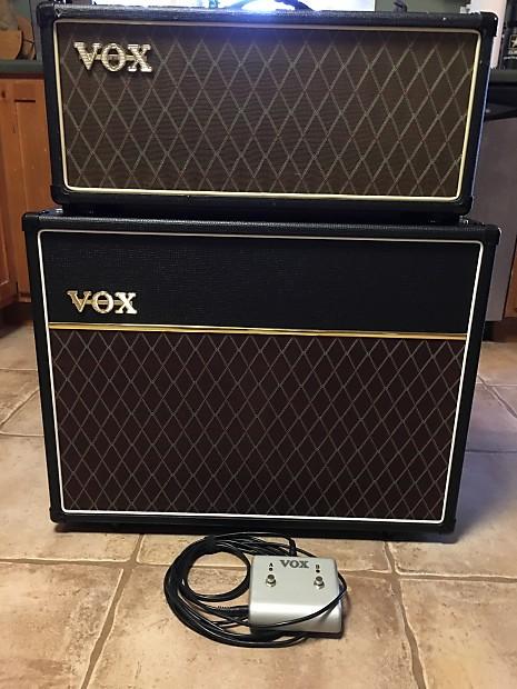 vox ac30 custom classic tube head and v212c cab free shipping reverb. Black Bedroom Furniture Sets. Home Design Ideas