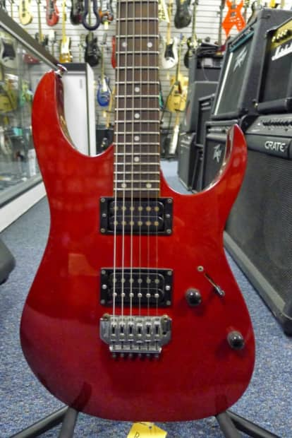 ibanez rg 120 electric guitar clean fast shipping reverb. Black Bedroom Furniture Sets. Home Design Ideas