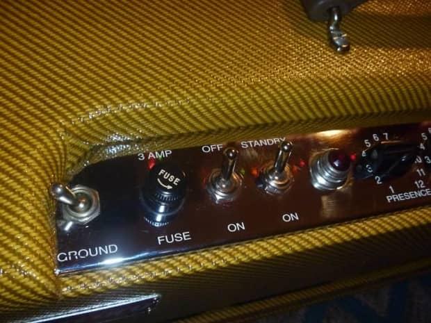5f6a bassman 1959 tweed head build