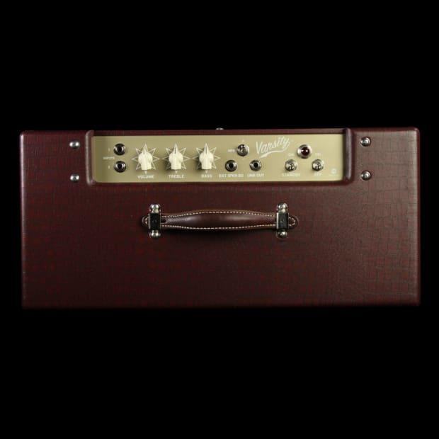 magnatone varsity 12 reverb cathedral electric guitar amp reverb. Black Bedroom Furniture Sets. Home Design Ideas