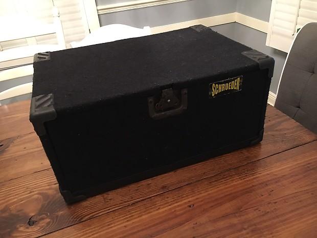 Portable 19 Quot Rack : Schroeder u quot portable rack case reverb