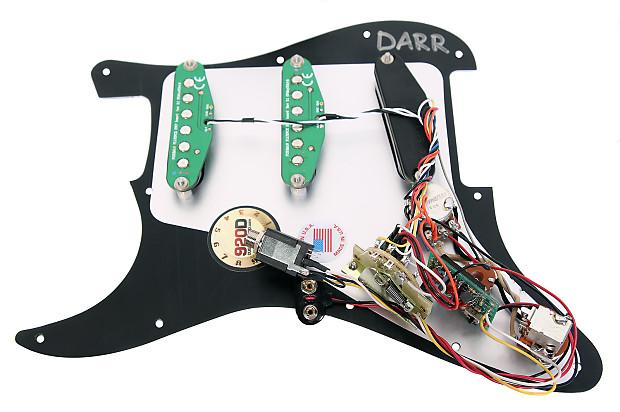 920d Fishman Fluence Loaded Pickguard Fender Strat L R