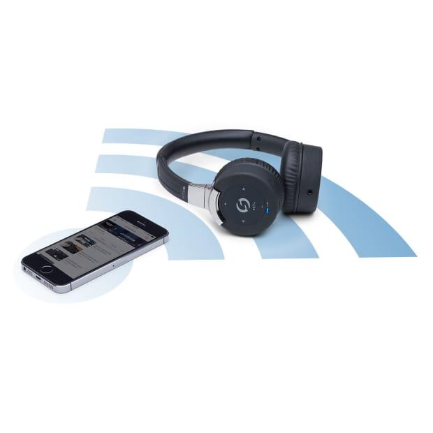 samson rte 2 bluetooth low profile on ear headphones reverb. Black Bedroom Furniture Sets. Home Design Ideas