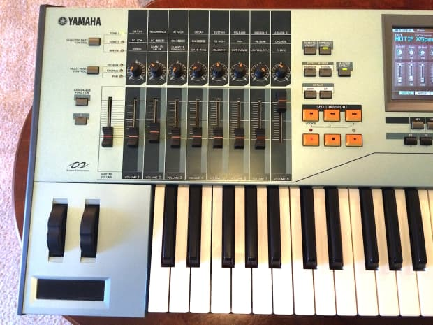 Yamaha motif xs 6 synth workstation great condition reverb for Yamaha mx61 specs