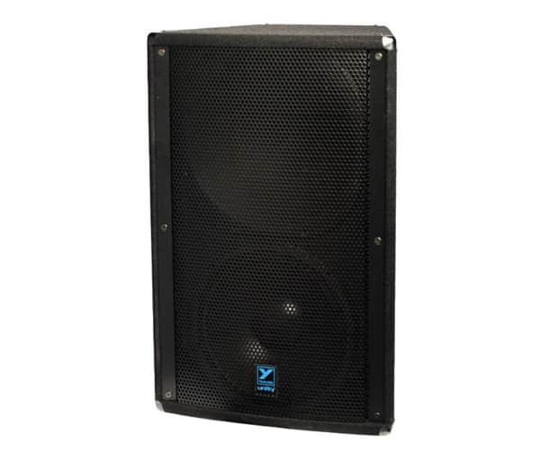 yorkville u15pb ultrathane black powered speaker reverb. Black Bedroom Furniture Sets. Home Design Ideas
