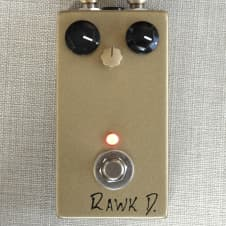 Rawk D Fuzz Face Clone NOS Russian Germanium Transistors JBF3 Boutique Point To Point Effects Pedal image