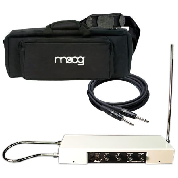 moog etherwave standard theremin gloss white stage kit reverb. Black Bedroom Furniture Sets. Home Design Ideas